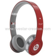 Beats by Dr.Dre Solo HD Headphones Limited Edition from Monster in Red