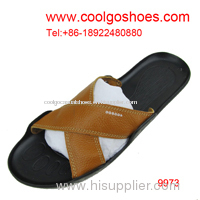high quality men slippers