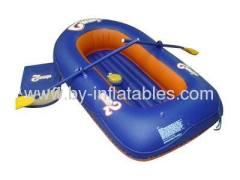 single inflatable kid swim boat