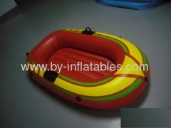 inflatable kid single playing boat