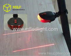 mini flexible 5LED+ 2 laser led laser tail light