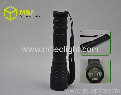 Multifunction strong power cree led tactical flashlight rech