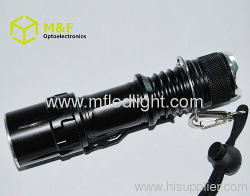 portable rechargeable t6/Q5 LED Flashlight cree tactical tor