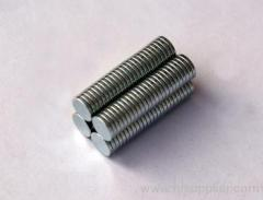 N35/N42 D10 x 2mm Permanent Neodymium/NdFeB Disc Magnet