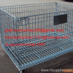 Wire Mesh Container/Storage Wire Mesh Container
