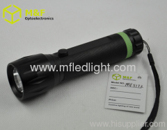 Aluminium 3w high power LED flashlight