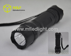 3-modes Aluminium1w/3w White LED high power flashlights torc