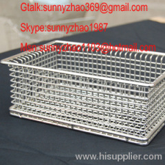wire mesh basket/medical basket