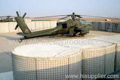 boundary defence use welded mesh wall