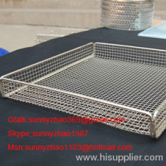 metal Medical Baskets/sterilizing basket