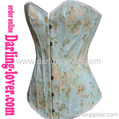 Sexy New Style Blue Flowers Corset