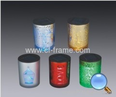 sloar glass cup lights as gift