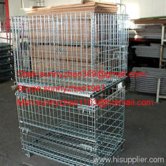 storage mesh container/Storage wire mesh container