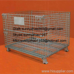 welded wire mesh containers/wire mesh cage