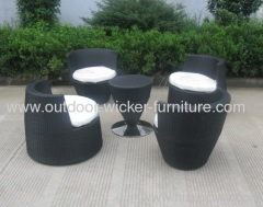 PE outdoor rattan Stackable furniture leisure chairs