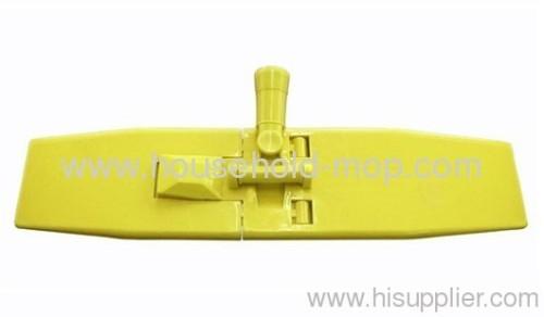 "18"" Plastic microfiber chenille flat mop frame head"
