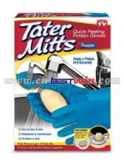 TATER MITTS/QUICK PEELING POTATO GLOVES