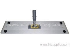 Wet microfiber chenille mop frame head