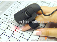 wired finger optical mouse for kids gift