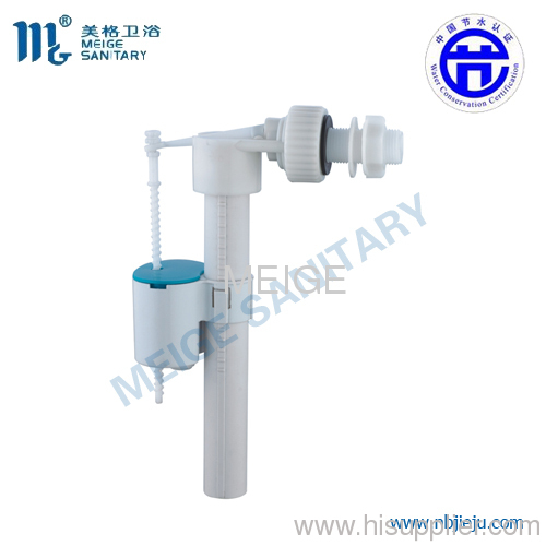 bottom entry toilet cistern valve