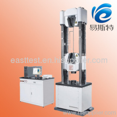 WAW G Servo Hydraulic Steel Strand Universal Testing Machine