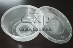 storage box container mould transparent case mould Round disposable Box Mould Thinwall Food Container Mould