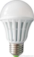 6W LED bulb e27 mcob led lamp plastic housing bulb