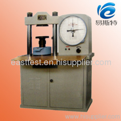 YE 500A COMPRESSION TESTING MACHINE