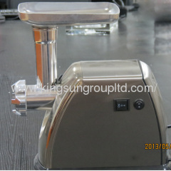steel stainless electric meat grinder