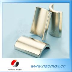 Arc segment neodymium magnets