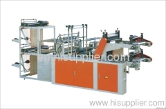 Computer Control High Speed Vest Rolling Bag making Machine(Double Lines)