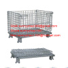 storage welded wire mesh container for warehousing and transportation