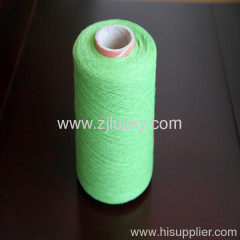 recycled cotton polyester gloves yarn