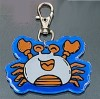 Mini crab Reflective Key Chain promotional gift