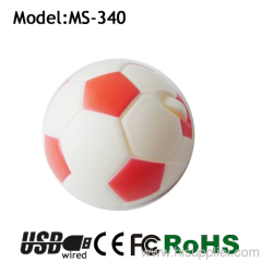 ball shape usb wired gift football mouse