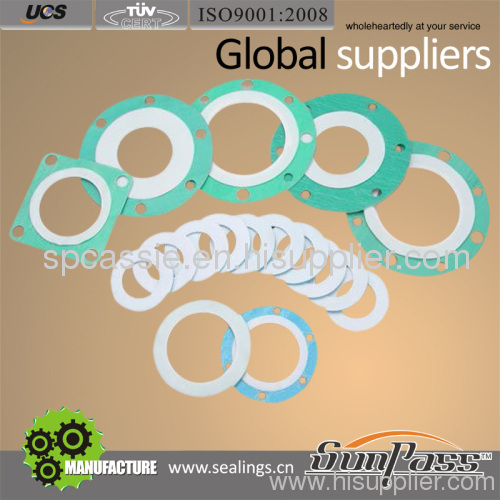 PTFE envelope gaskets for tank container
