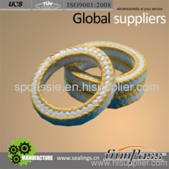 Pure PTFE With Kevlar Fiber Corner Braided Packing