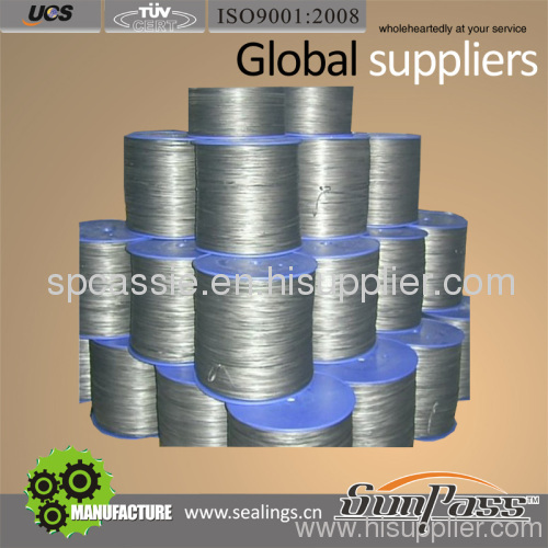 Graphite PTFE Yarn Without Oil