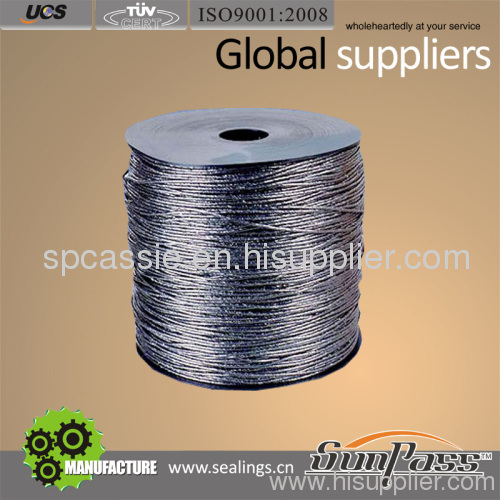 Flexible Expanded Graphite Yarn