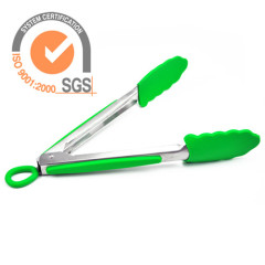 Silicone Tongs Stainless Steel Kitchenware