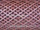 Customized Expanded Plate Mesh, Aluminum, triangle / scale hole, civil building