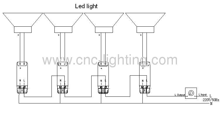 20w ip65 ceiling led canopy light ip65  from china
