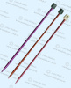 Alu knitting needles in 5.0mm
