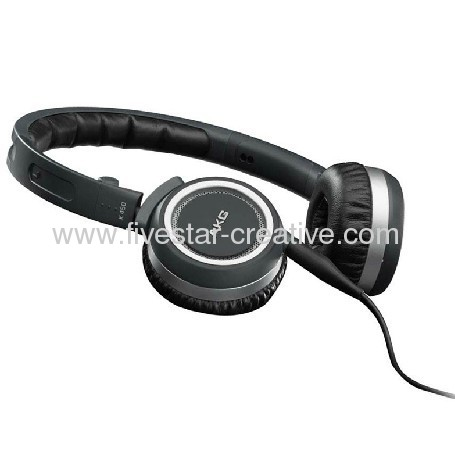 AKG K450 Foldable Mini On-Ear Headphones Navy