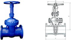 din f5 Socket End Gate Valve