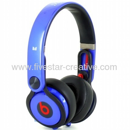 Beats Mixr On-Ear Headphones Blue