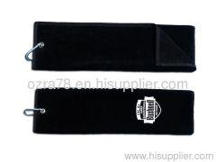 Custom Golf Towels Trifold