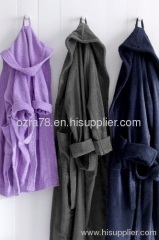 Cotton Hooded Bath Gowns