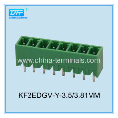 pitch 3.50/3.81mm plug-in terminal blocks for conductors 8A 300V