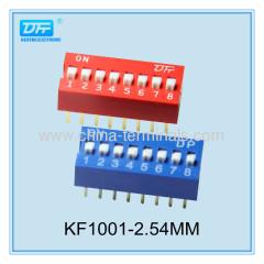 8way interruptor dip deslizante tipo fabricante y mayorista de interruptores dip personalizado